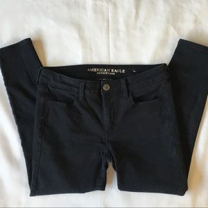American Eagle black jeans size 10 short jeggings